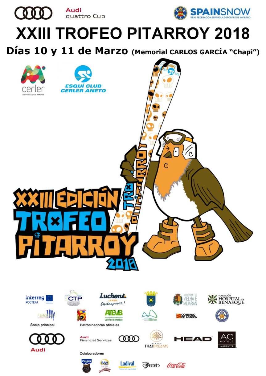 CARTEL XXIII Trofeo Pitarroy 2018