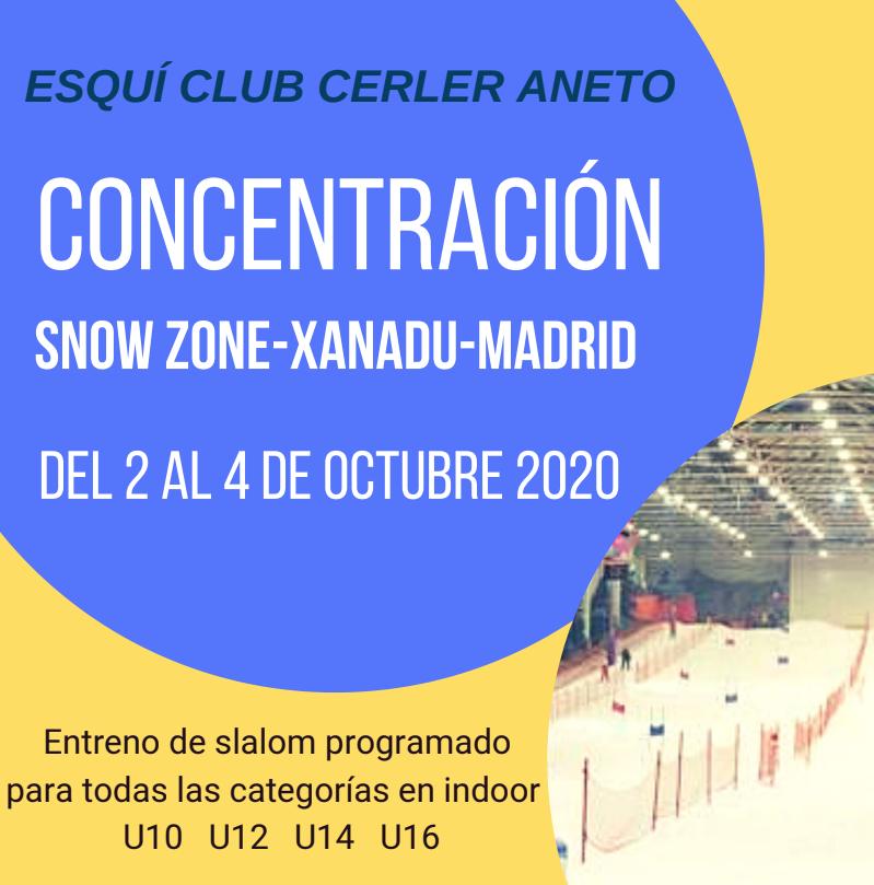 INFORMACIÓN CAMPS OTOÑO E.C. CERLER ANETO - TEMPORADA 2020-2021